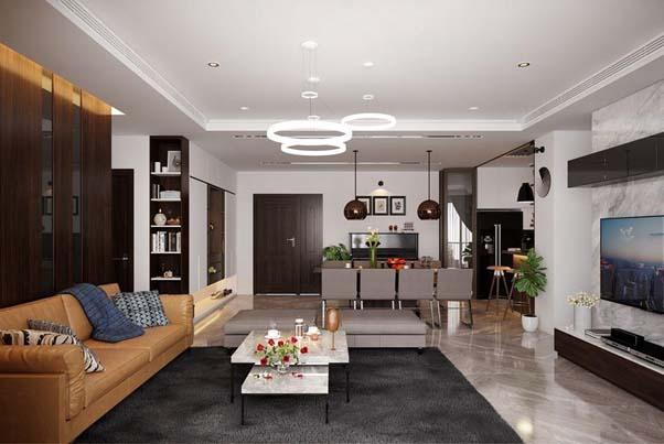Xu hướng thiết kế nội thất căn hộ chung cư CT-01 Ciputra tiện nghi, hiện đại
