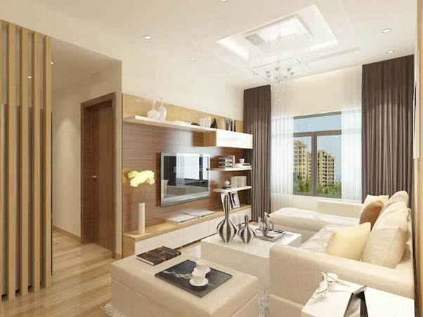 Nội thất chung cư hiện đại mang phong cách Hàn Quốc