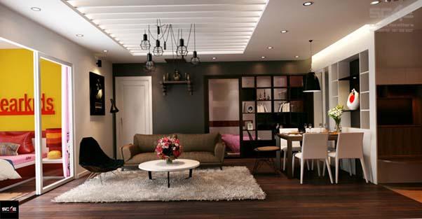 Thiết kế căn hộ chung cư Discovery Complex Cầu Giấy được nhiều người đánh giá cao