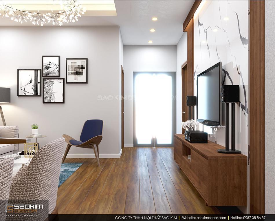 Thiết kế thi công nội thất chung cư trọn gói chung cư FLC Garden City