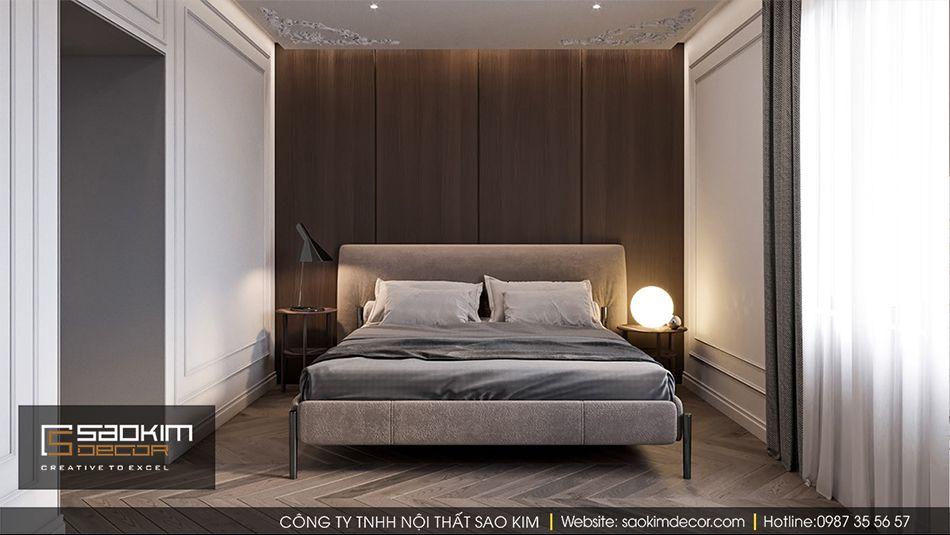 Thiết kế phòng ngủ 2 chung cư Vinhome Ocean Park