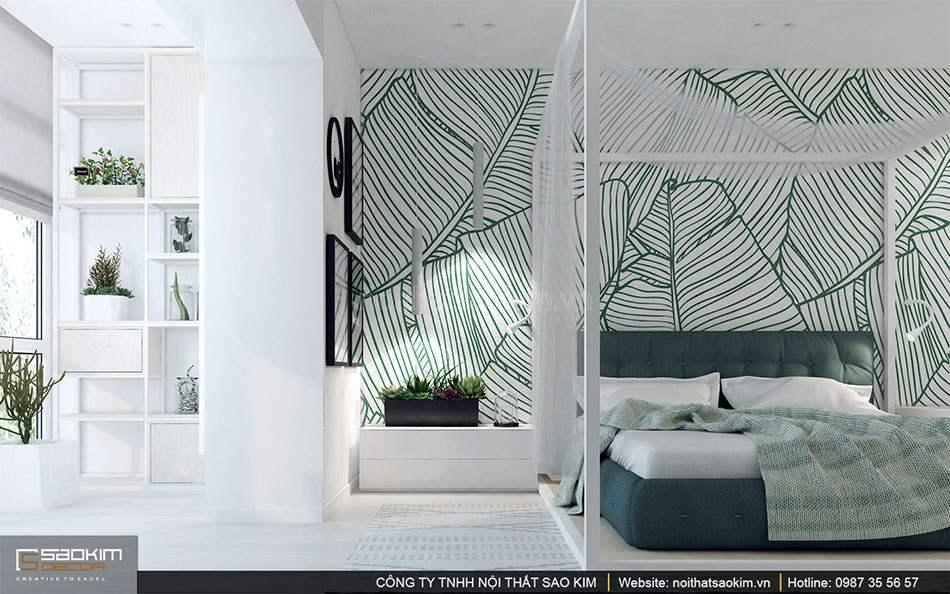 Thiết kế nội thất phòng ngủ 2 căn hộ duplex - Golden Westlake
