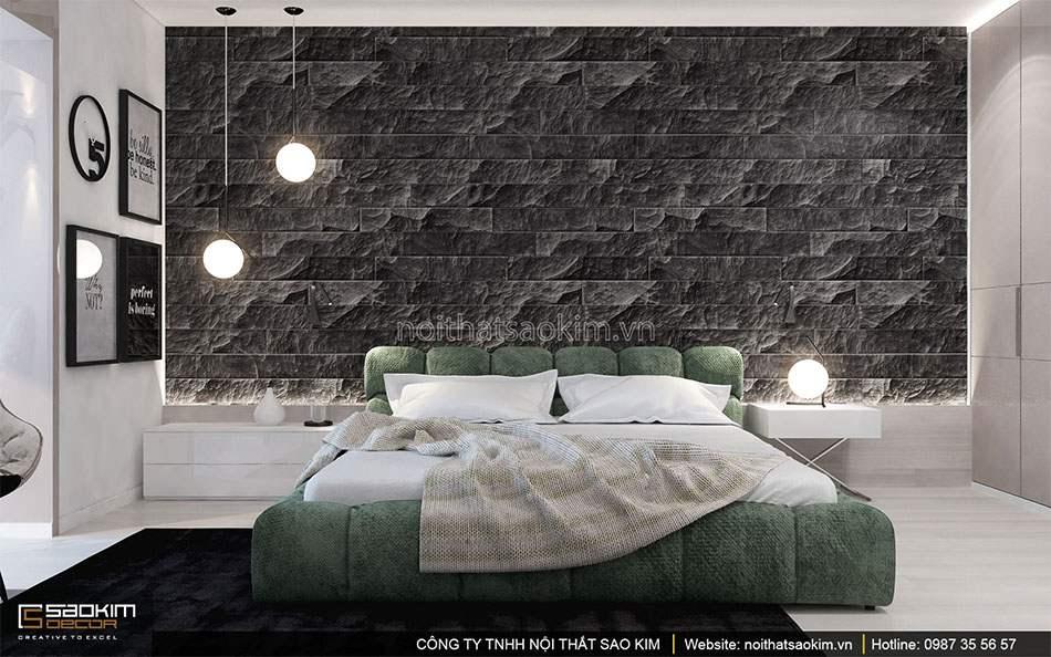 Thiết kế nội thất phòng ngủ 3 căn hộ duplex - Golden Westlake
