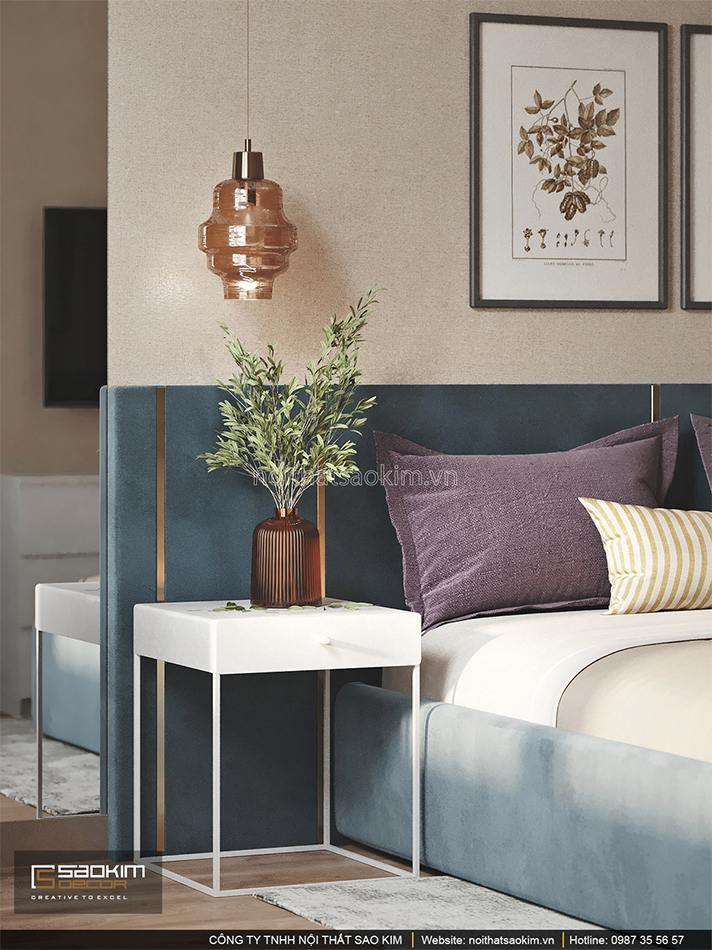 Thiết kế phòng ngủ căn hộ chung cư