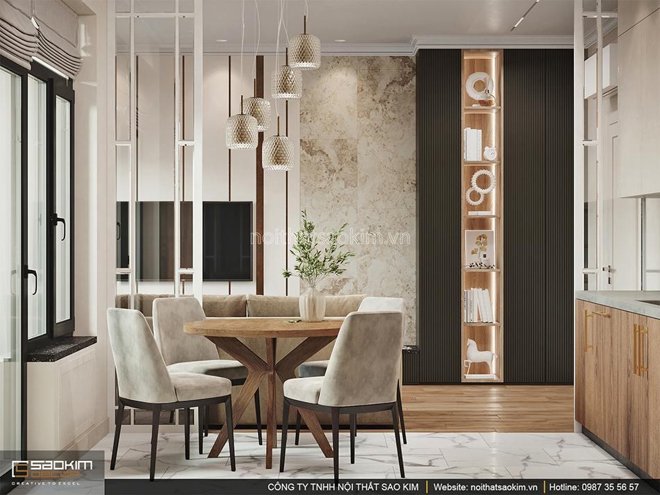 Thiết kế căn hộ 1,5 phòng ngủ 6TH Element