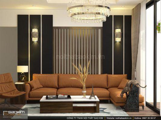 Thiết kế nội thất chung cư 100m2 PHC Complex