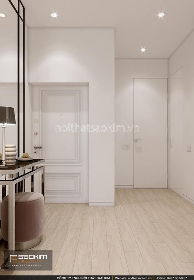 Thiết kế tiền sảnh căn hộ chung cư