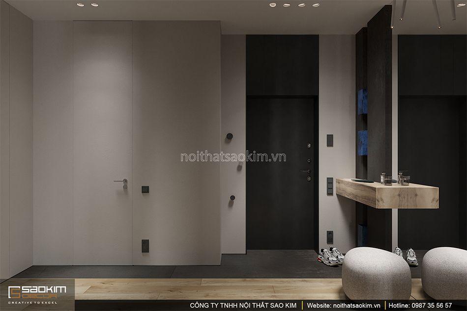 Thiết kế hành lang chung cư