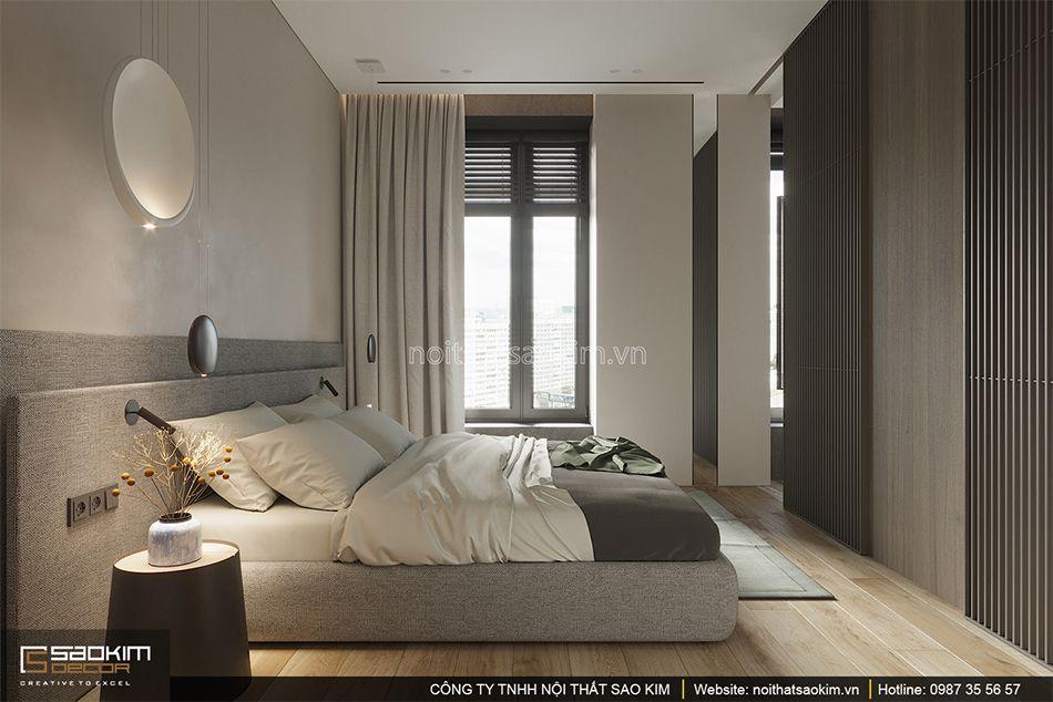 Thiết kế phòng ngủ chung cư theo phong cách Đài Loan (Taiwan) Indochina Plaza