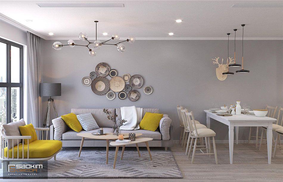 Thiết kế chung cư đẹp Sunshine Garden theo phong cách Scandinavian
