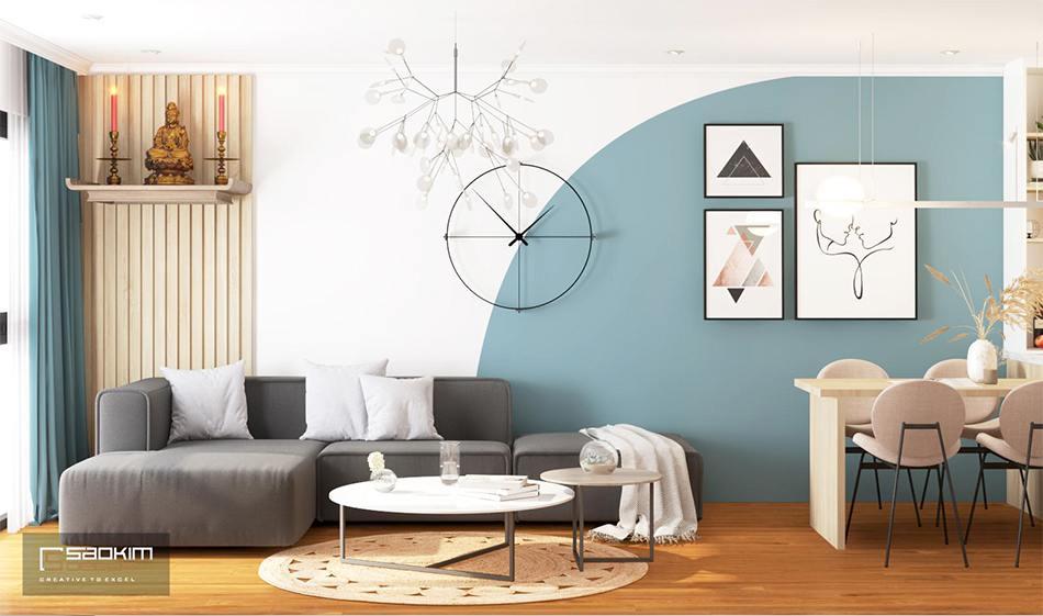 Thiết kế chung cư phong cách Scandinavian dự ánSunshine Garden
