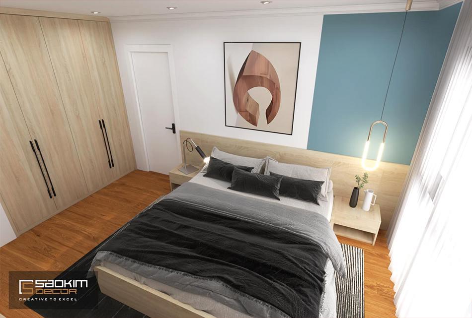 Thiết kế phòng ngủ chung cư phong cách Scandinavian dự ánSunshine Garden