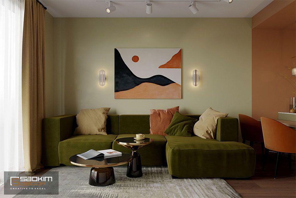 Thiết kế căn hộ chung cư 50m2Sunshine Garden