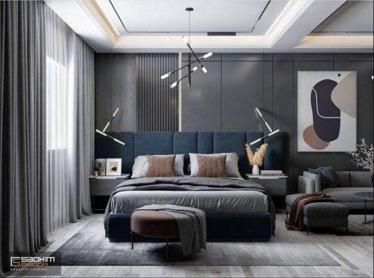Thiết Kế Nội Thất Căn Hộ Studio Vinhomes Smart City 38m2