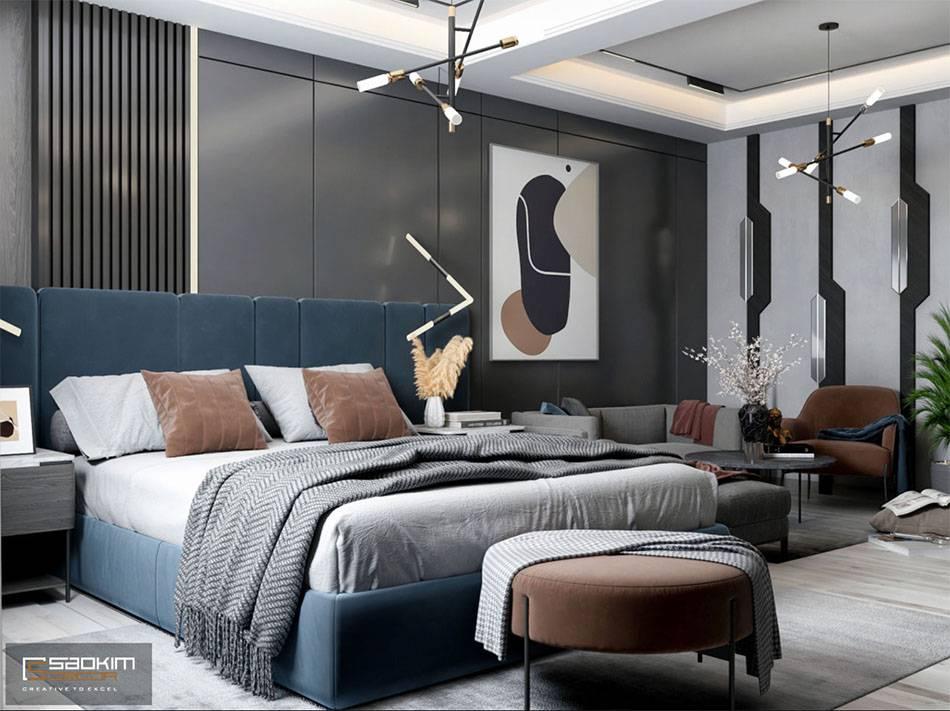 Thiết kế không gian mở căn hộ studio Vinhomes Smart City 38m2