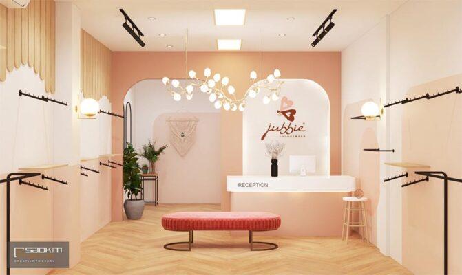 Thiết Kế Shop Thời Trang Nữ đồ Bộ Mặc ở Nhà Jubbie