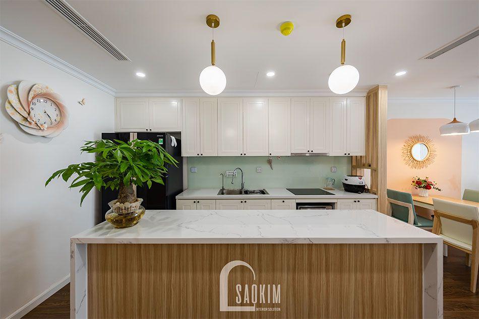 Hình ảnh hoàn thiện thiết kế và thi công chung cư Sunshine Garden