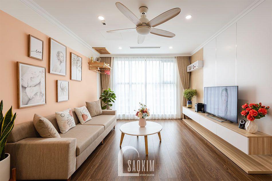 Thiết kế và thi công chung cư mang đậm gu thẩm mỹ và phong cách riêng của gia chủ