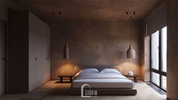 Không gian thiết kế tịnh vắng, rộng thoáng