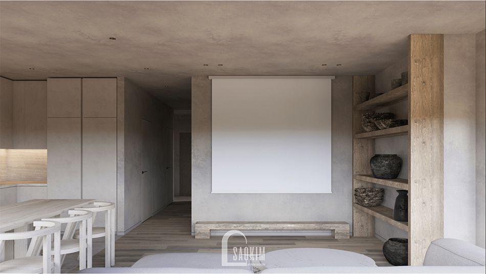 Phong cách nội thất Wabi Sabi tôn vinh vẻ đẹp tự nhiên qua các chất liệu đơn sơ, mộc mạc