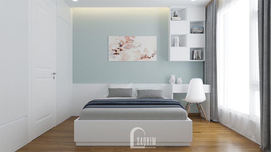 Thiết Kế phòng ngủ master Nhà Chung Cư 65m2 Imperia Garden