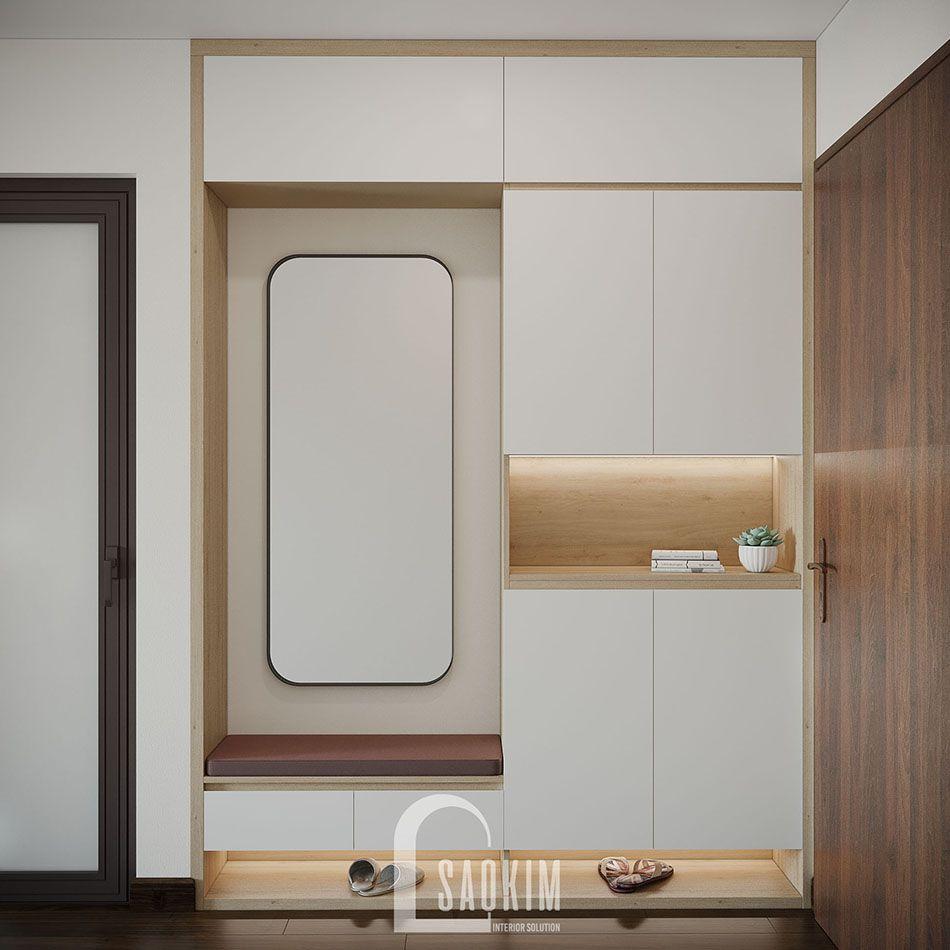 Không gian tiền sảnh mang đậm phong cách thiết kế Color Block