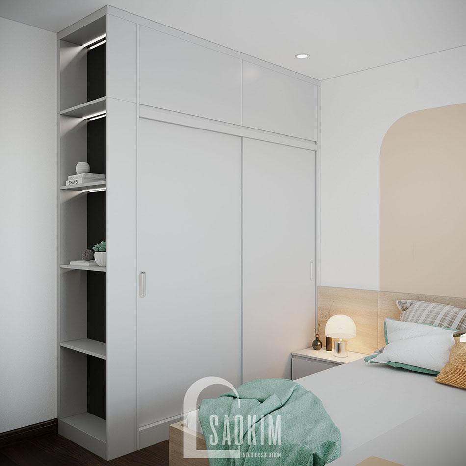Mẫu căn hộ 80m2 Eco Home đẹp với phong cách thiết kế Color Block
