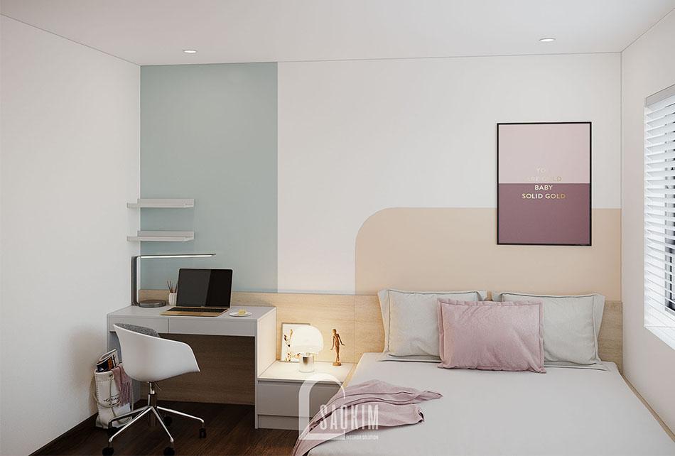 Không gian phòng ngủ 2 mang đến cảm giác thư giãn, dễ chịu