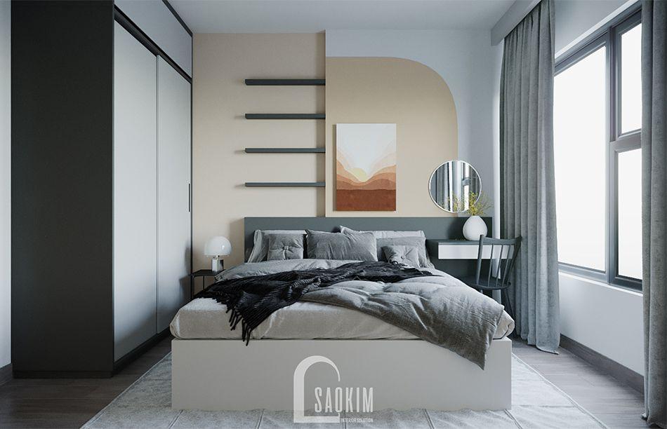 Mẫu thiết kế căn hộ 1 phòng ngủ + 1 chung cư Vinhomes Smart City
