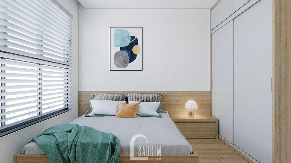 Không gian căn hộ 2 căn hộ 67m2 chung cư Vinhomes Smart City