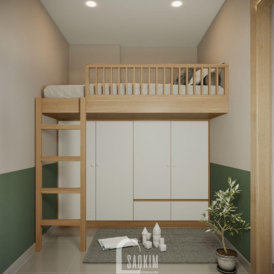 Thiết kế nội thất phòng đa năng hiện đại, thông minh