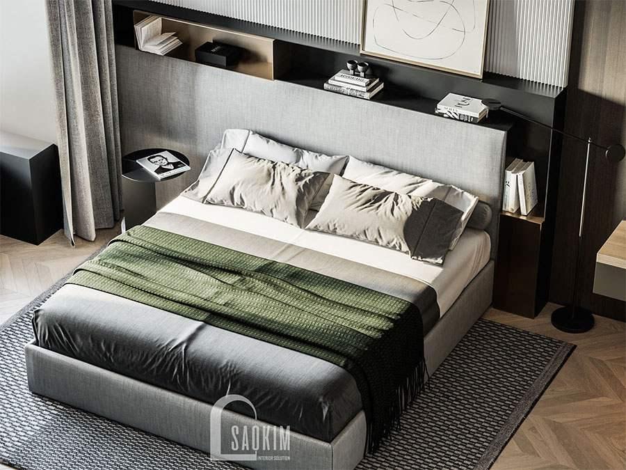 Không gian phòng ngủ sang trọng, cuốn hút