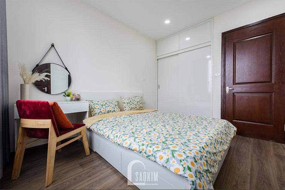 Thiết kế nội thất phòng ngủ thông minh, đa năng