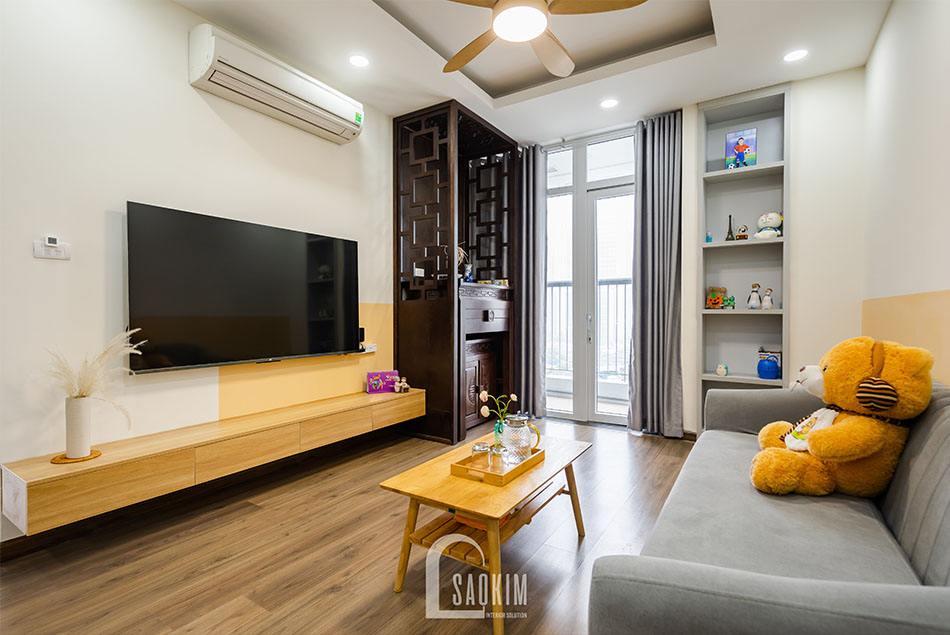 Hoàn thiện thi công căn hộ khu đô thị Nam Trung Yên