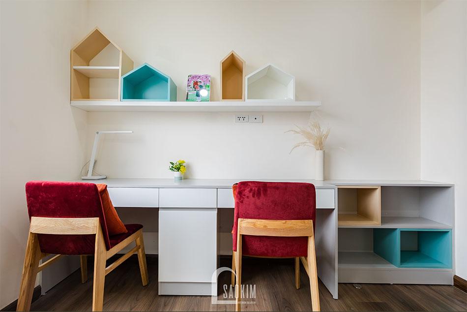 Thiết kế nội thất phòng ngủ độc đáo giúp bé tăng khả năng tư duy, sáng tạo