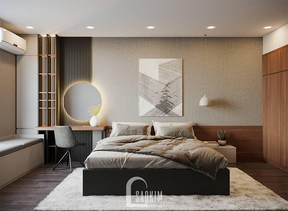 Mẫu thiết kế phòng ngủ 2 căn hộ HPC Landmark 105 Tố Hữu