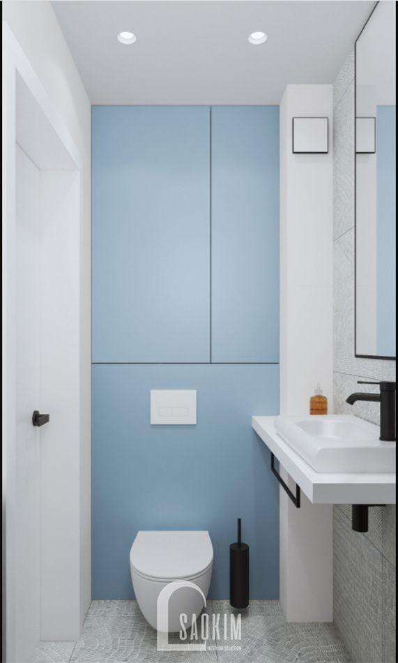 Không gian phòng tắm 2 sạch sẽ, thoáng mát