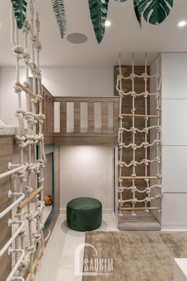 Mẫu thiết kế căn hộ 3 phòng ngủ chung cư The K Park