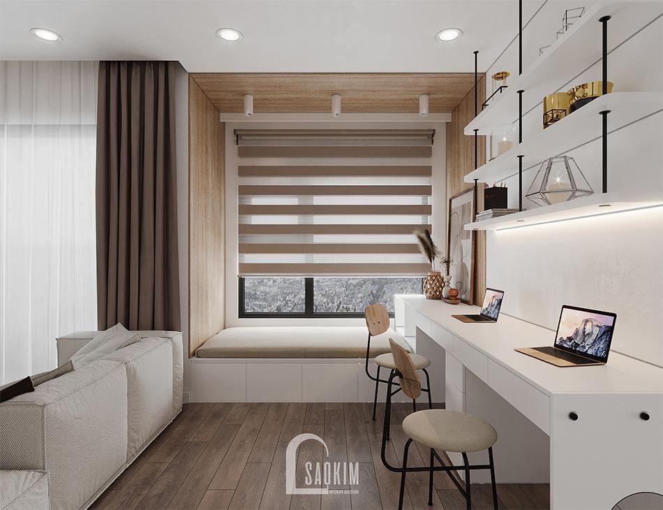 Thiết Kế Căn Hộ 65m2 Dự án Vinhomes Smart City
