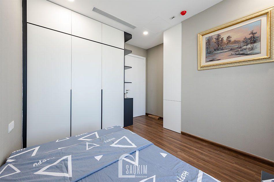 Thi công chung cư 80m2 theo phong cách hiện đại Golden Park
