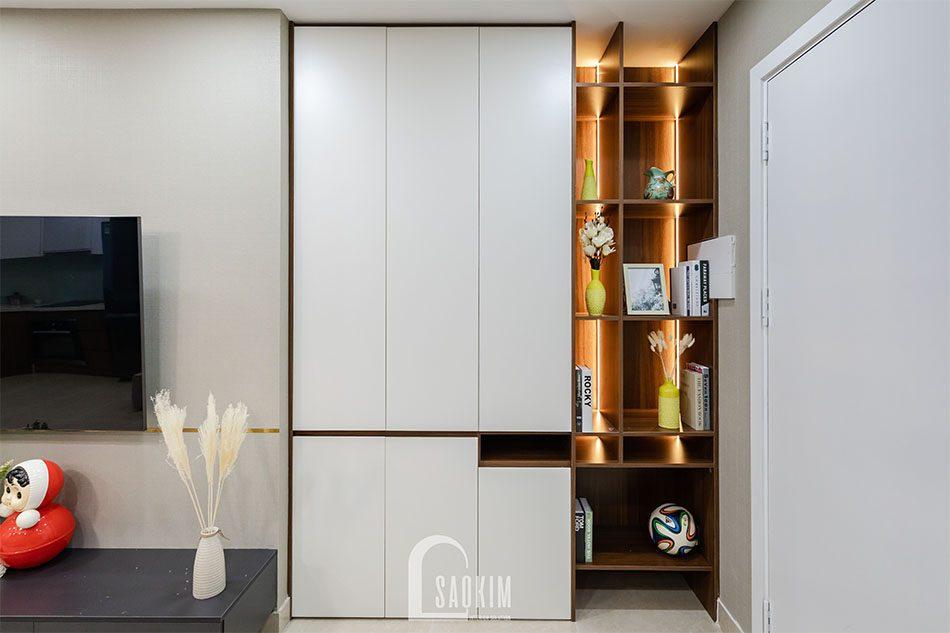 Thi công nội thất chung cư 80m2 theo phong cách hiện đại Golden Park