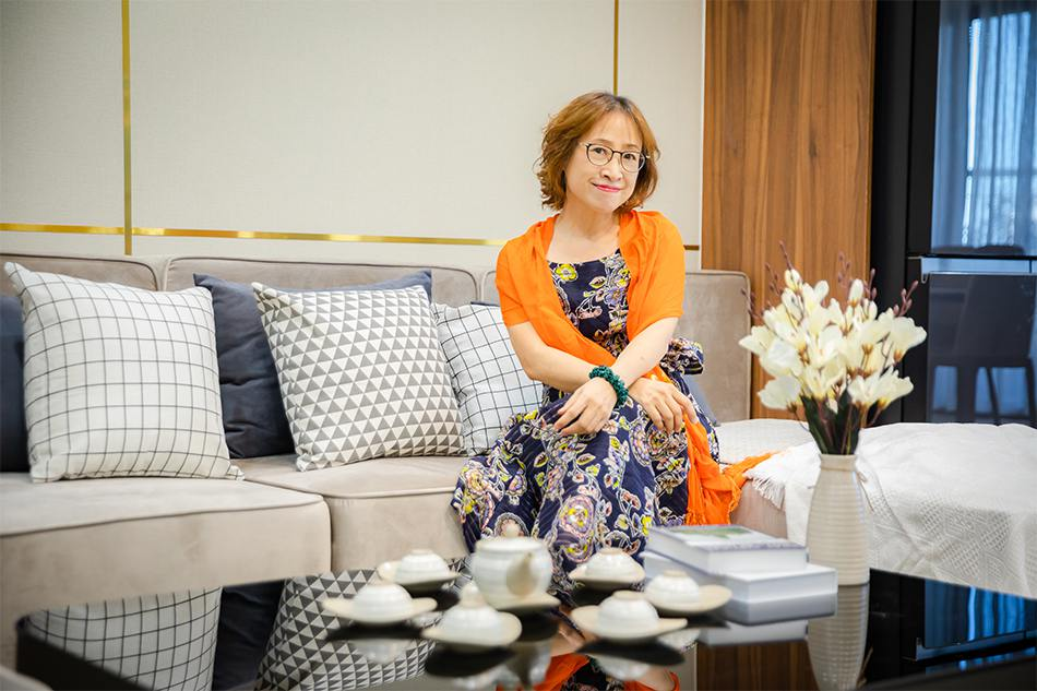 Cô chủ nhà căn hộ Golden Park