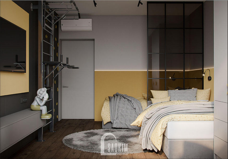 Thiết kế nội thất chung cư đẹp The Terra An Hưng
