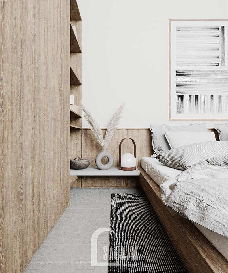 Mỗi món đồ nội thất trong phòng ngủ đều được lựa chọn kỹ lưỡng