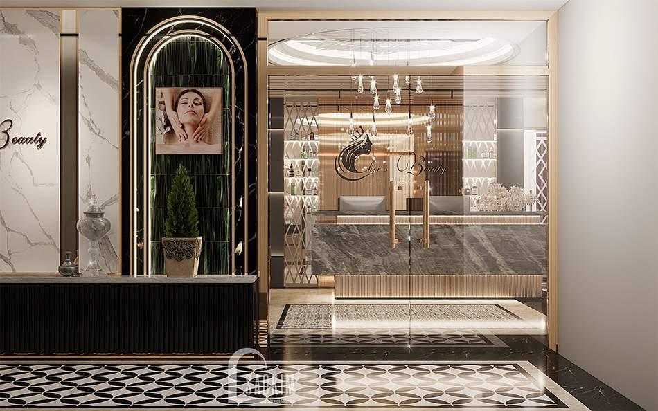 Thiết kế spa tân cổ điển luxury Choi's Beauty
